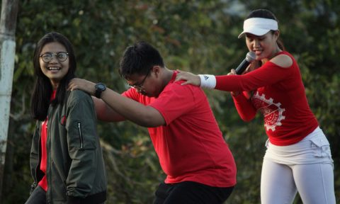 outbound camping awi dance